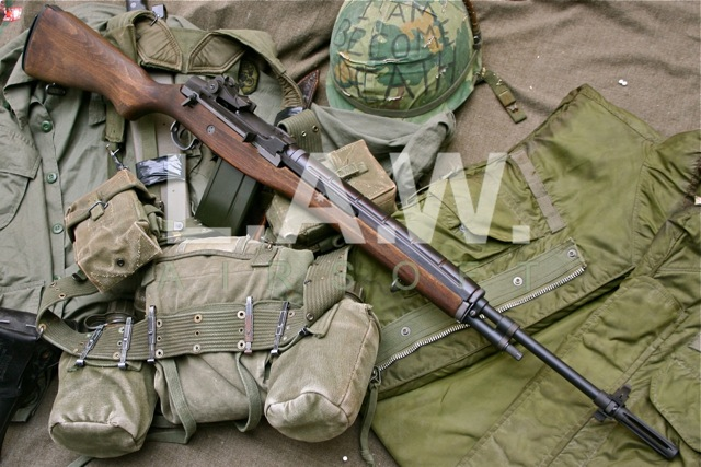 Un M14 Custom En France France Airsoft